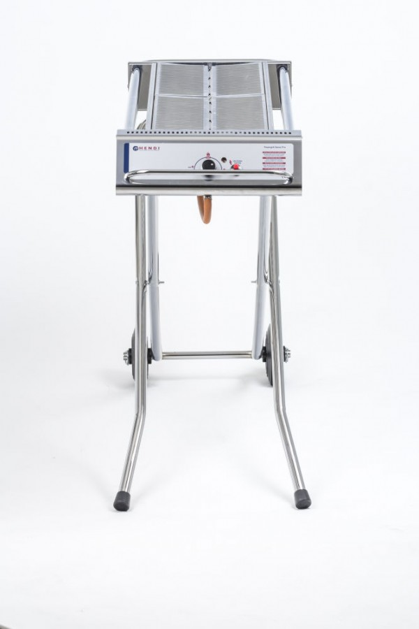 Xenon Pro Stainless Steel Power Grill - Cloverleaf Distribution